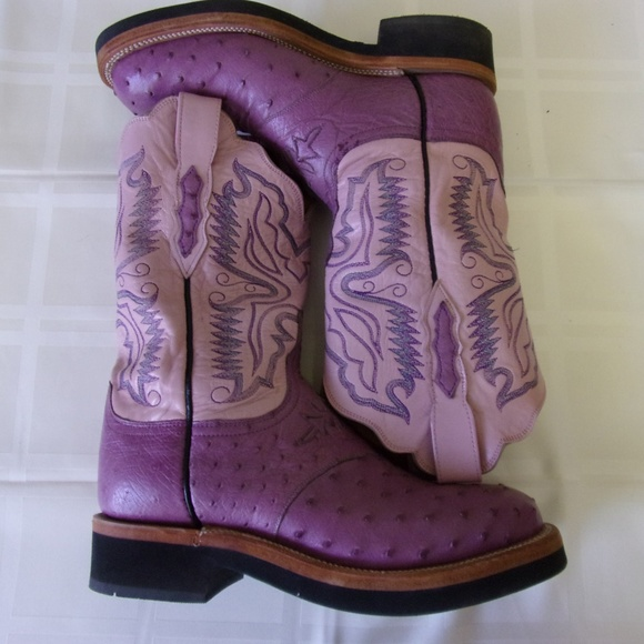 7f190128a2d Purple Ladies Western Boots